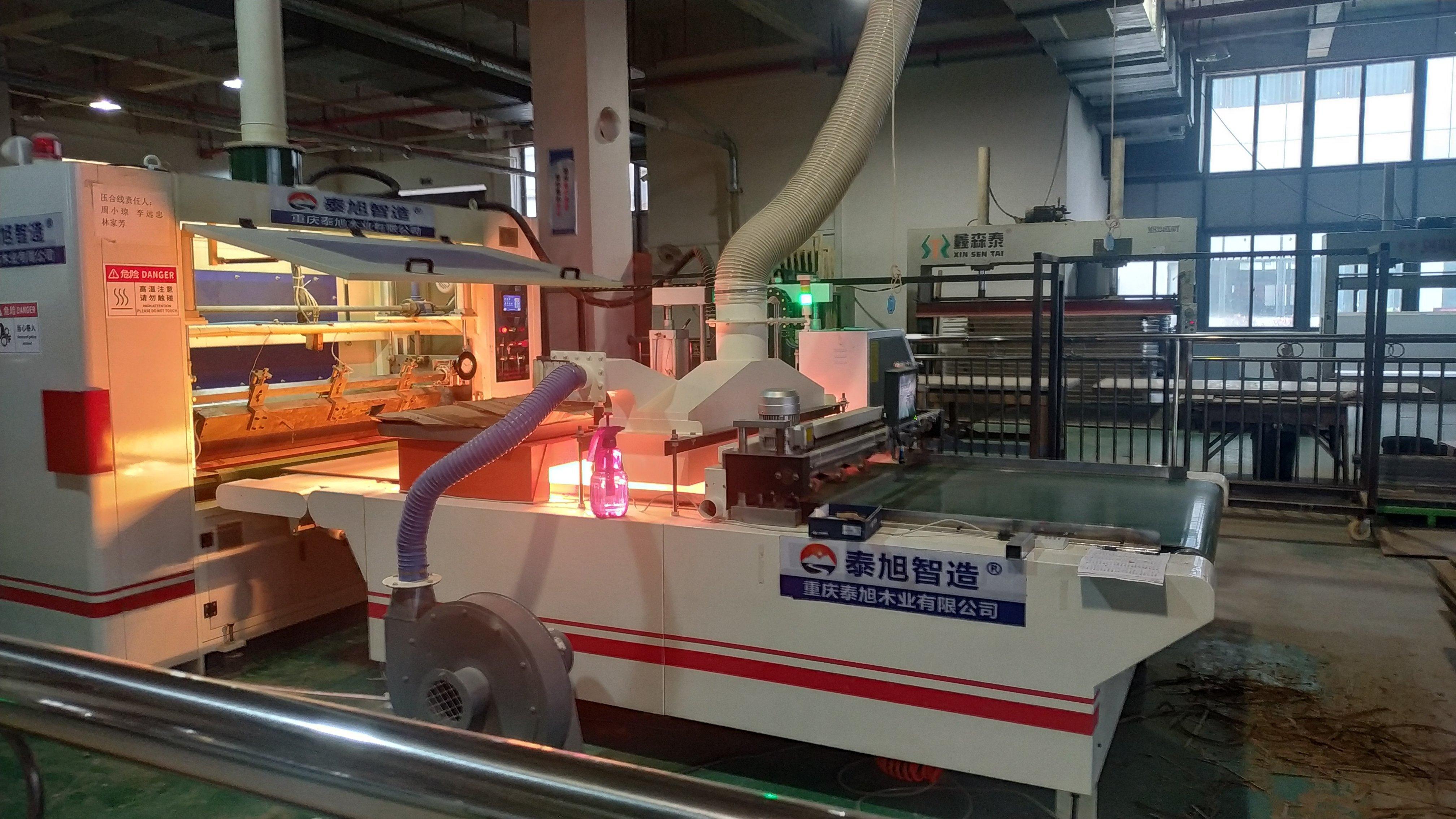 木门压机生产